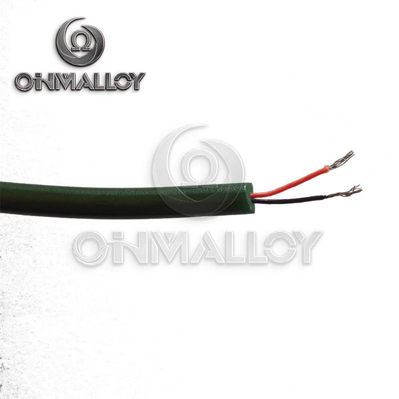 AWG 8 3.2mm PFA/PVC Insulated and Sheathed E Type Thermocouple Extension Wire