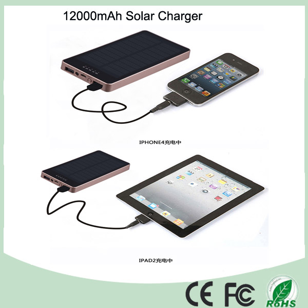 2016 Promotional Wholesale Solar Power Bank 12000mAh (SC-1688)