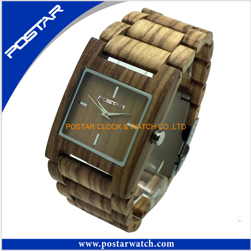 New Arrival Hot Sale Wooden Watches for Men Promotional Watch