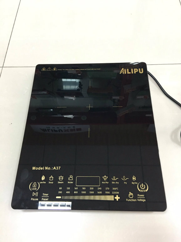 93% Efficiency Ultra Slim with Large Plate Touching Induction Cooker