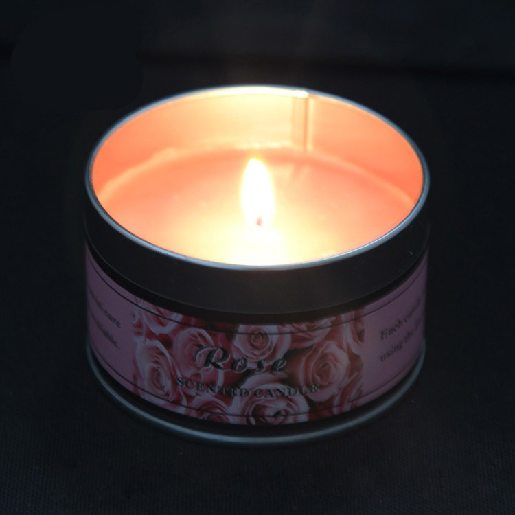 travel tin candles