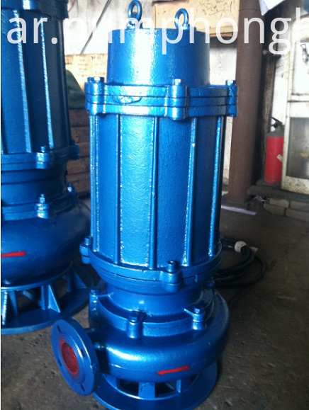 cast iron material pump