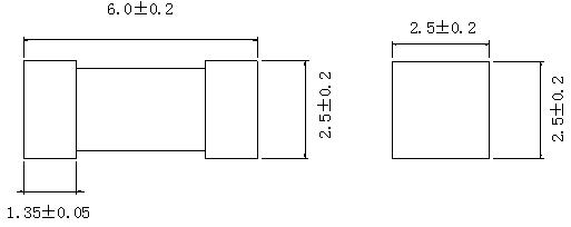SMD Fuse Time-Lag 125V/250V 217-1 Series