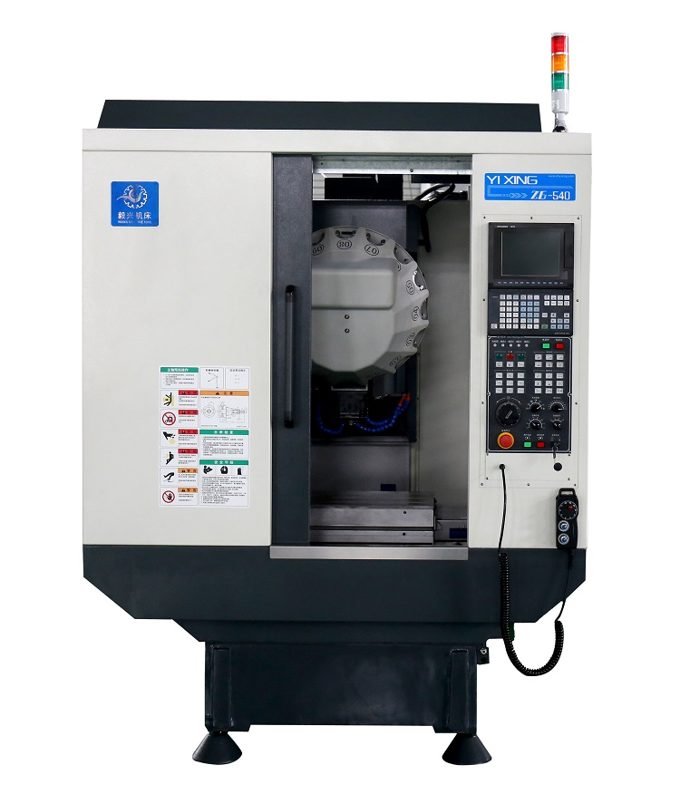 Tapping Speed 6000rpm, X/Y/Z Axis's Movement Speed 50m/Min Vmc 540 CNC Machining Center