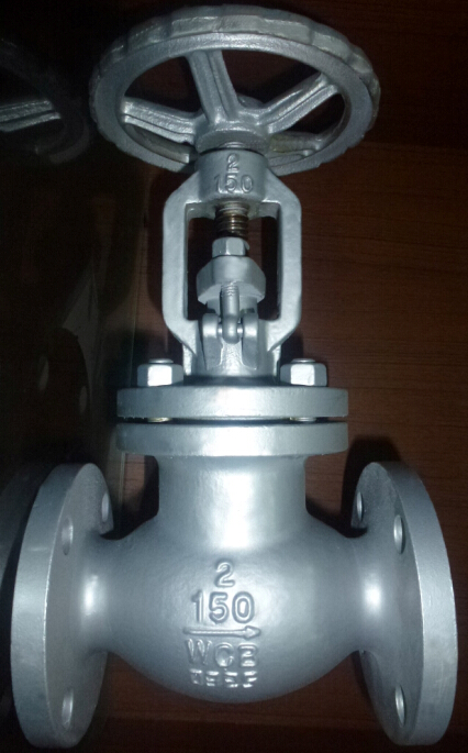 300lb ANSI Flange End Globe Valve RF with Carbon Steel