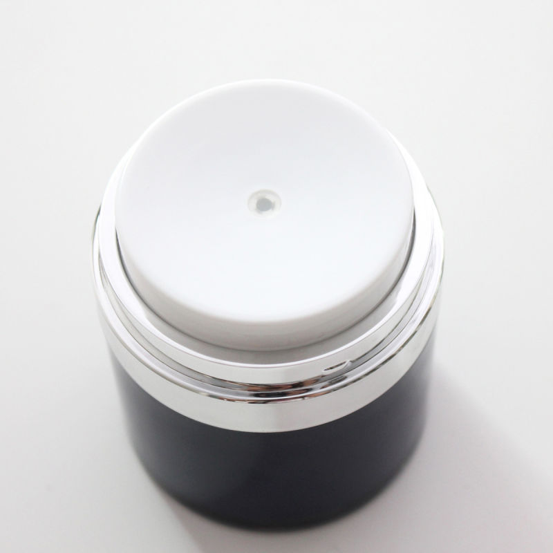 High Quality Clear Airless Cream Jar 30g 50g for Cosmetic Packaging