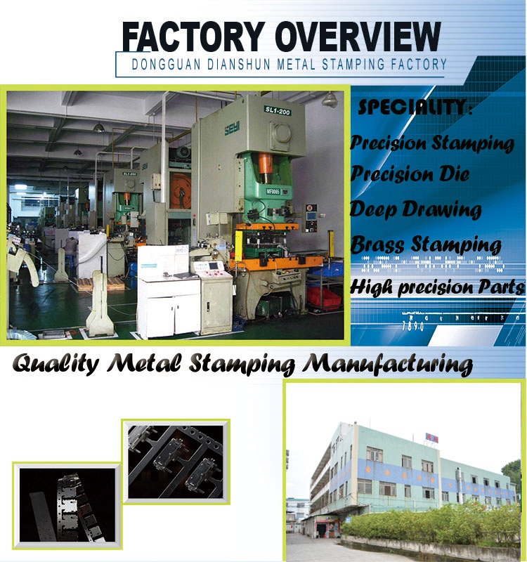 Metal Stamping Manufacturing with Palting Finishing