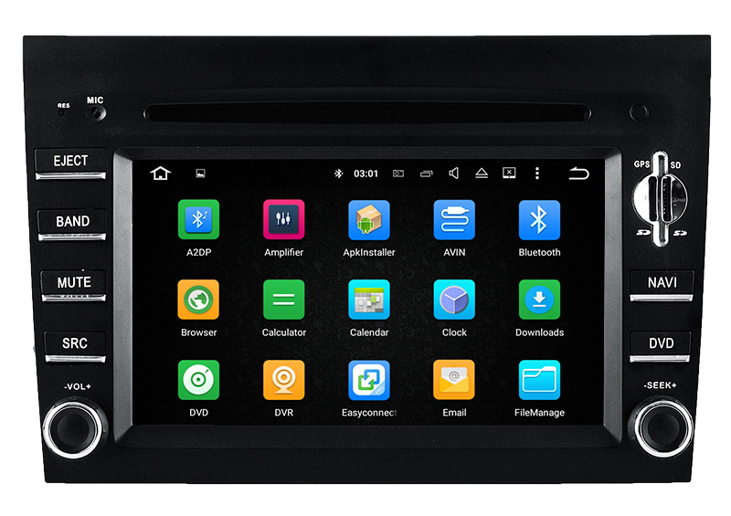 Hla Car DVD Player Android 5.1 Auto DVD for Prosche Cayman/911 GPS Navigatiion Bluetooth TV 3G WiFi