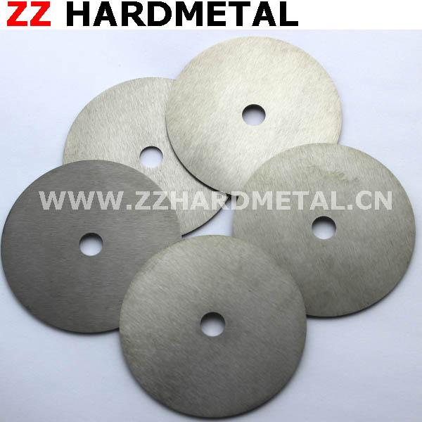 Cemented Carbide Circular Polishing Sharp Slitting Cutter