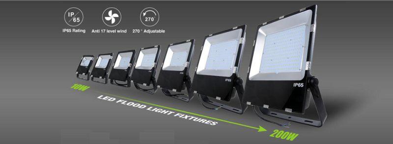 Slim Floodlight 200W 150W 100W 80W 50W 30W 10W Dimmable Outdoor LED Flood Light