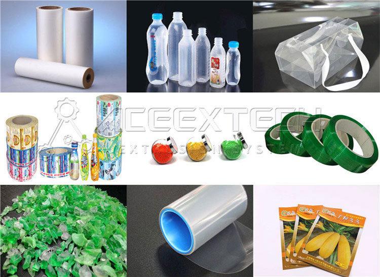Wast Plastic Pet Bottle Recycling Pelletizing Extrusion Machine