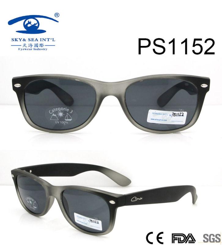 High Quality New Arrival Plastic Sunglasses (PS1152)