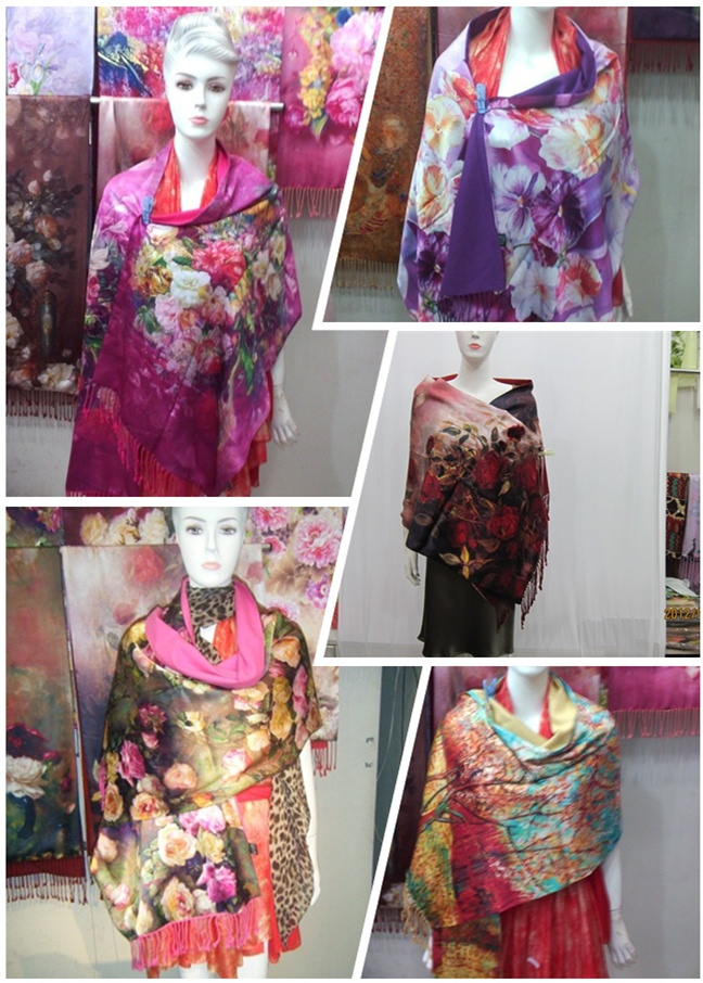 Custom Made Printed Scarf Printing (C-001)