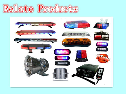 12/24VDC 100W/150W/200W Police Siren with Mic/Police Siren for Car PA300-1