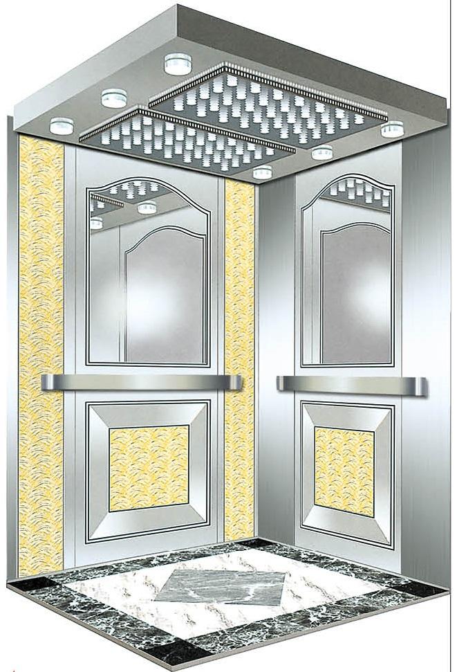 Passenger Elevator Lift Mirror Etched Mr & Mrl Aksen Ty-K202