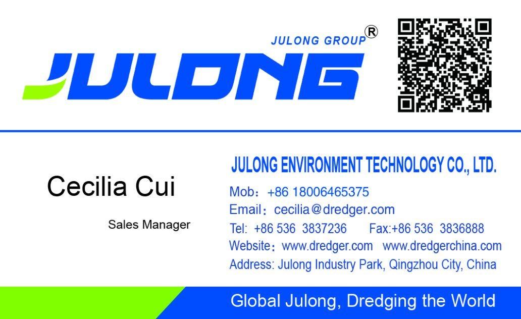 Julong Jl-CSD350 Bucket-Wheel Suction Dredger &Sand Dredger for Sale