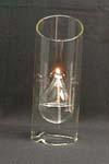 Customized Glass Candle Holder/Candlestick/Candleholder
