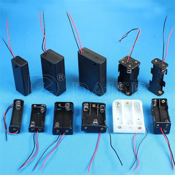 Hot Sale Plastic 9V Battery Holder for Charger (SBH-9V)