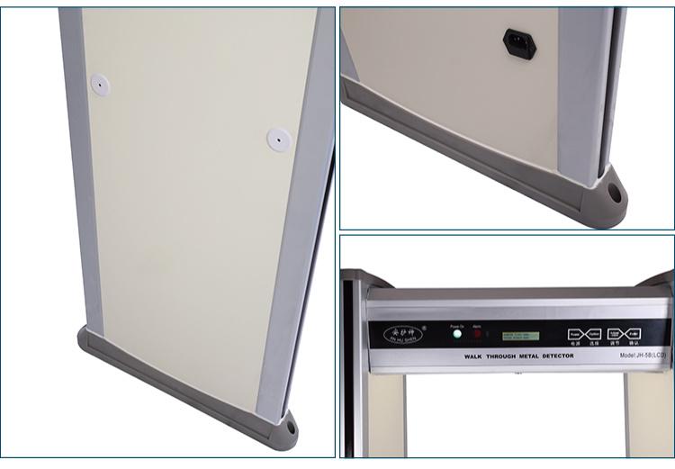 Walk Through Metal Detector (18 zones LCD)