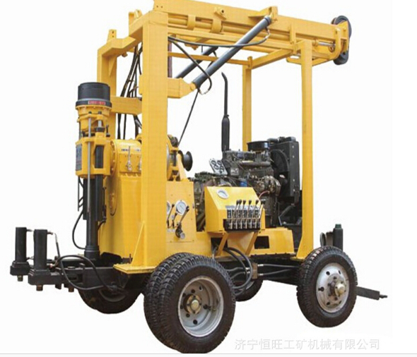Hydraulic Drill Trailer-Mounted Crawler-Mounted Water Drilling Rig with Big Discount