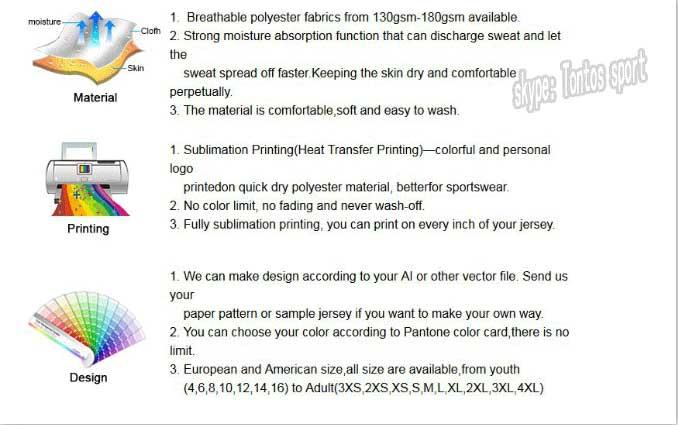 Dye Sublimation Sports Football Kits Blank American Football Jerseys