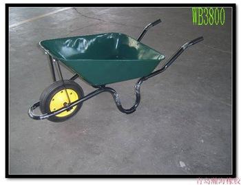 Qingdao Manufacturer Low Price Single Wheelbarrow Wb3800