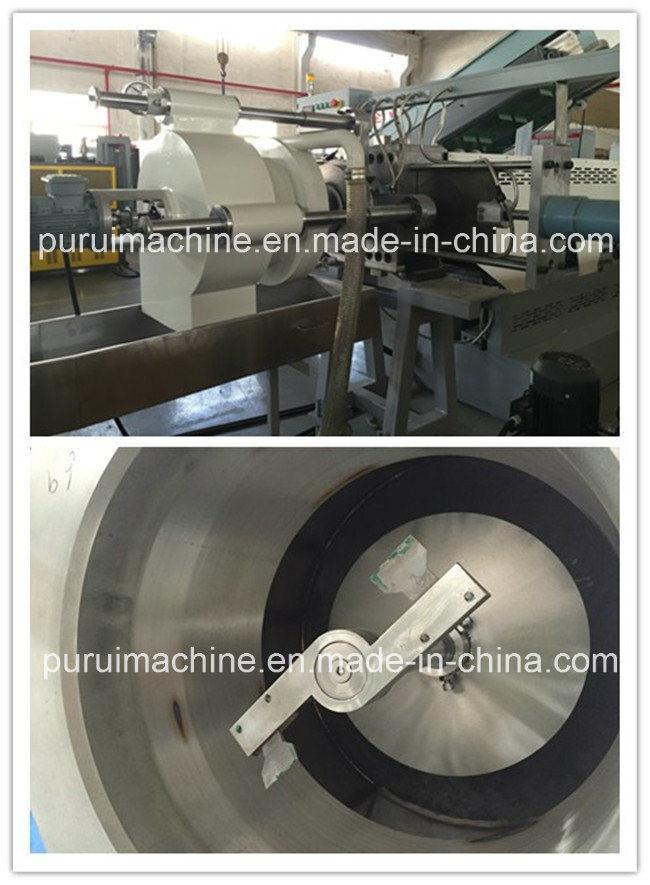 Plastic Extruder Granulator Machine for Recycling Non-Printed Edge Trim