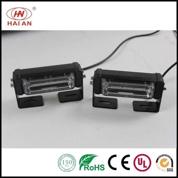 Police LED Warning Strobe Light Car LED Flashing Light for Front Grille Net LED Headlight Universal LED Lights for Cars/LED Rear Tail Visor Lighting