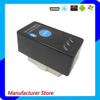 OEM/ODM New Arrival Bluetooth Elm327 V1.5 Obdii / Elm 327 Switch OBD2 Auto Diagnostic Scanner Tool Work on Android and Windows
