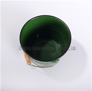 Enamel Daliy Use Big Water Bucket