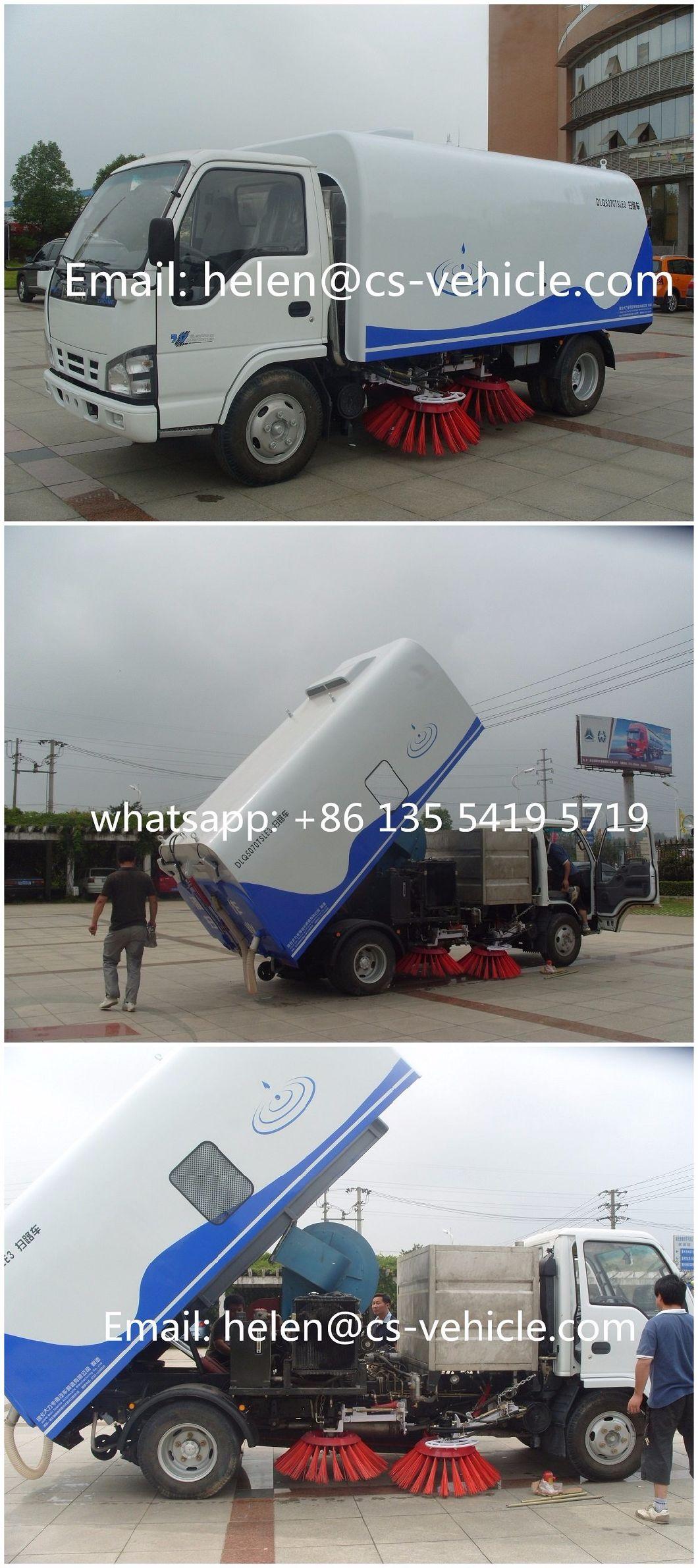 Isuzu Street Sweeper 2000L Water + 5000L Sweeper Truck