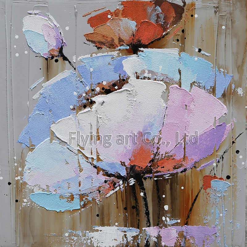 Impressionism Reproduction Flower Oil Painting