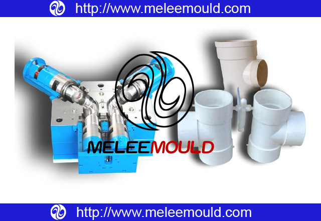 Plastic Mold for 2cavities Pipe Fitting (melee Mould-60)