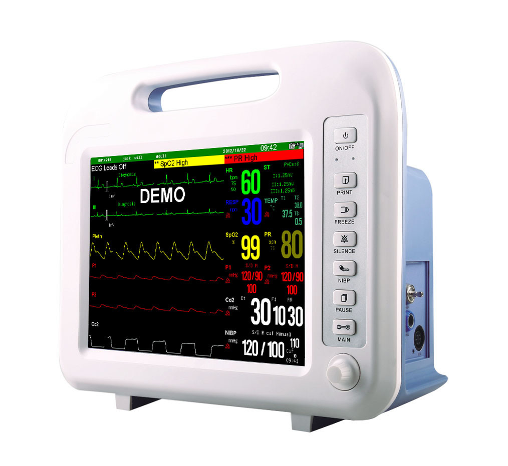 Factory Price Cheap 6 Multi-Parameters Patient Monitor/12 Inch Patient Monitor Price (MSLMP15)