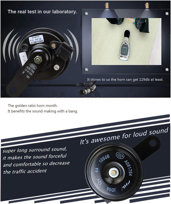 Fhl Compact Plus Twin Tone Car Horn