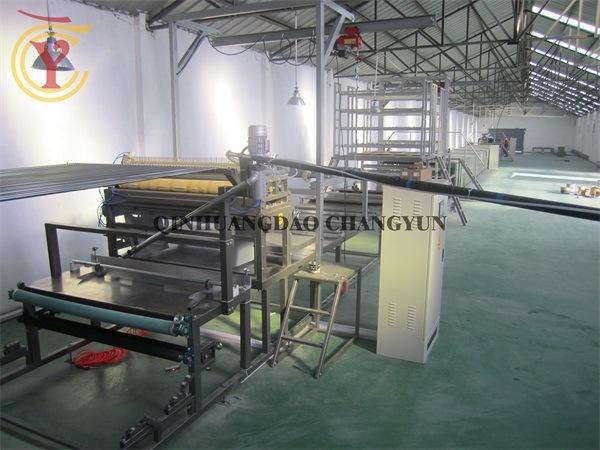 FRP Corrugated Sheet Transparent Skylights Tile Making Machine