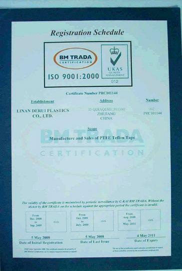 PTFE Joint Sealant Teflon Tape