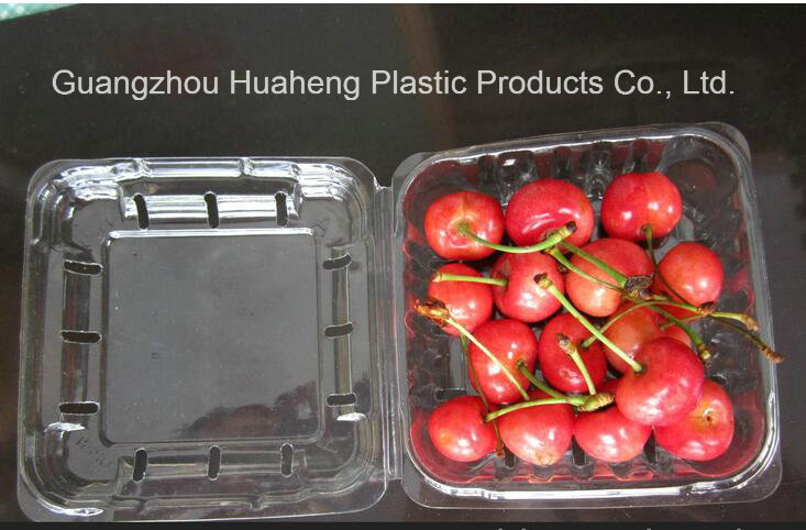 Custom Transparent Clear Plastic Food Container (PET tray)