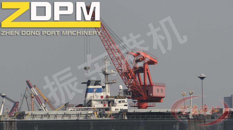 Harbor Single Girder Jib Portal Crane