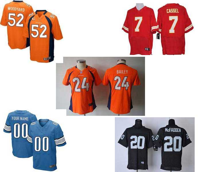 2015 Custom Sublimation American Football Jerseys