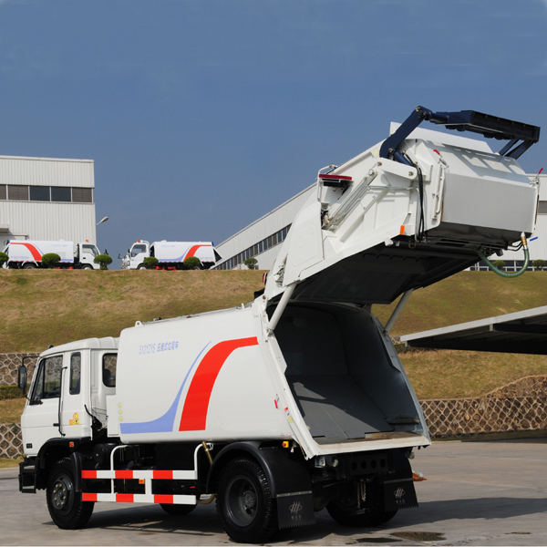 4X2 Sanitation Truck Series Garbage Compressing Truck