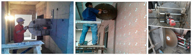 Factory Supply Wall Concrete Cutting Machine