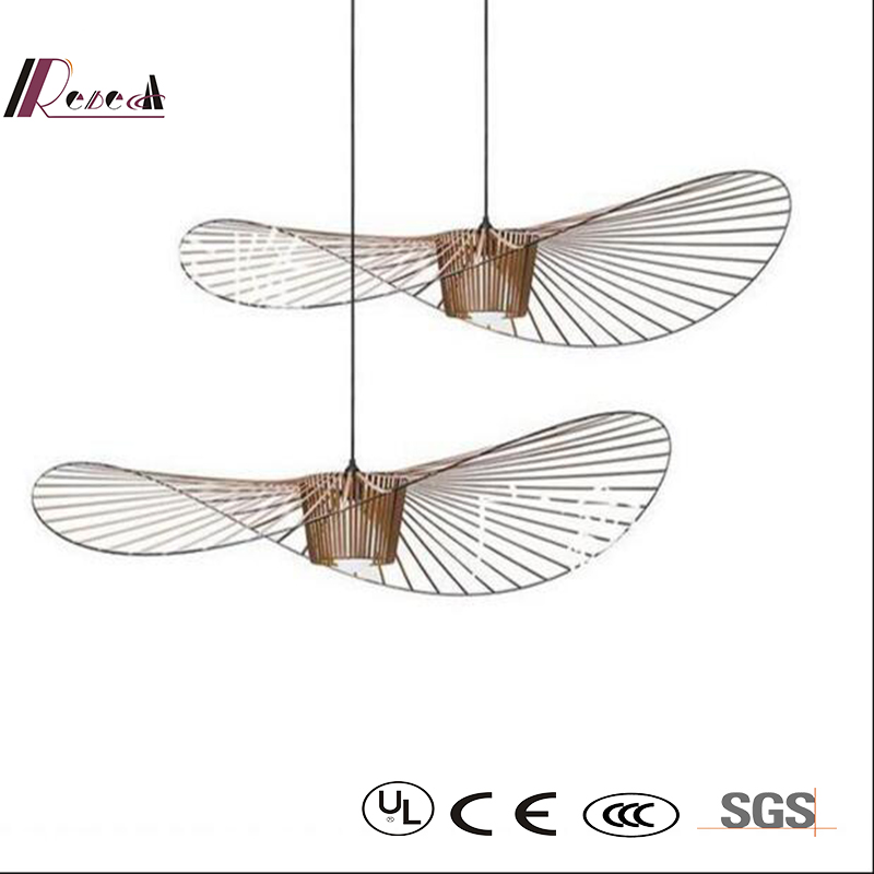 2016 New Design Straw Individuality pendant Lamp with Restaurant
