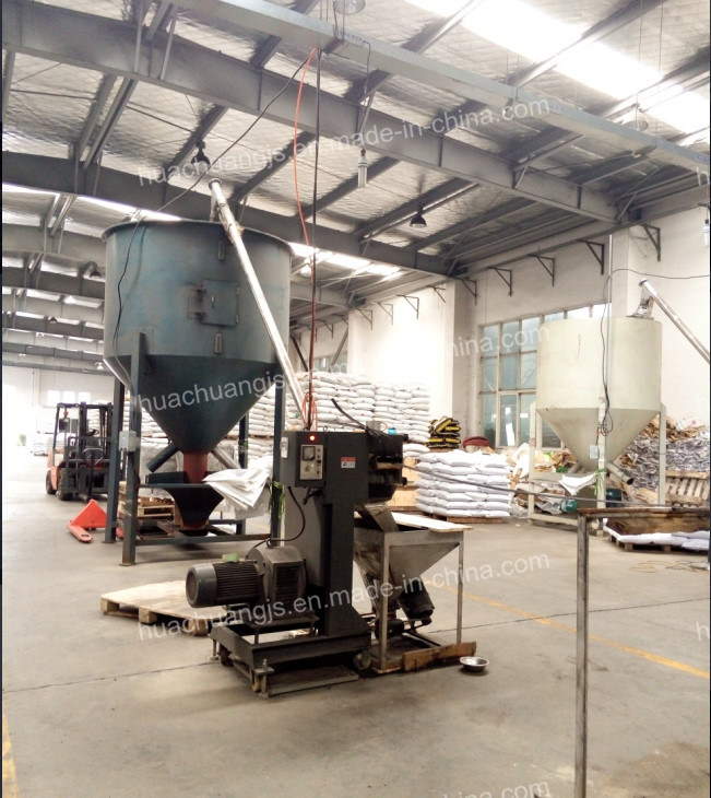 Parallel Twin-Screw Plastic Granule Extrusion Machine