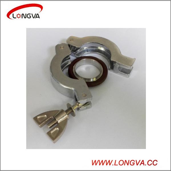 High Quality Aluminum Stainless Steel Kf Vacuum Clamp