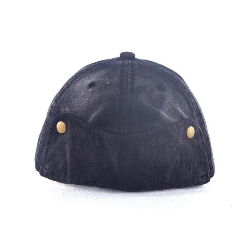 Metal Rivet Snap Back Fashion Caps
