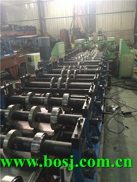 Steel Shelf Rack Beam Roll Forming Machine Supplier Turkey (BOSJ)