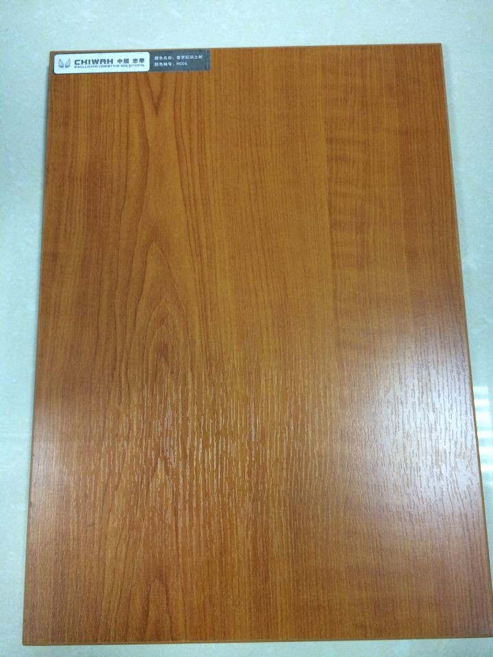 4'x 8' Walnut Particle Board Melamine Board Building Materials for Kitchen Furnitures (customized)