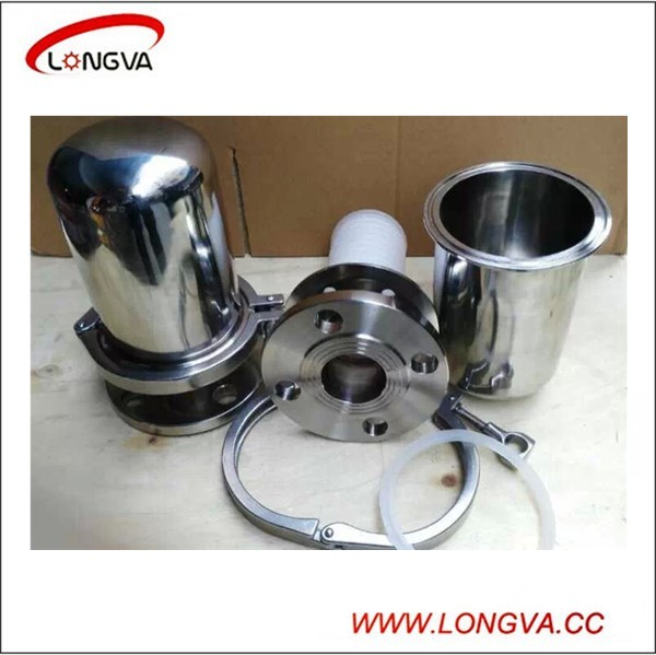 China Manufacture Sanitary stainless Steel Breather Valve