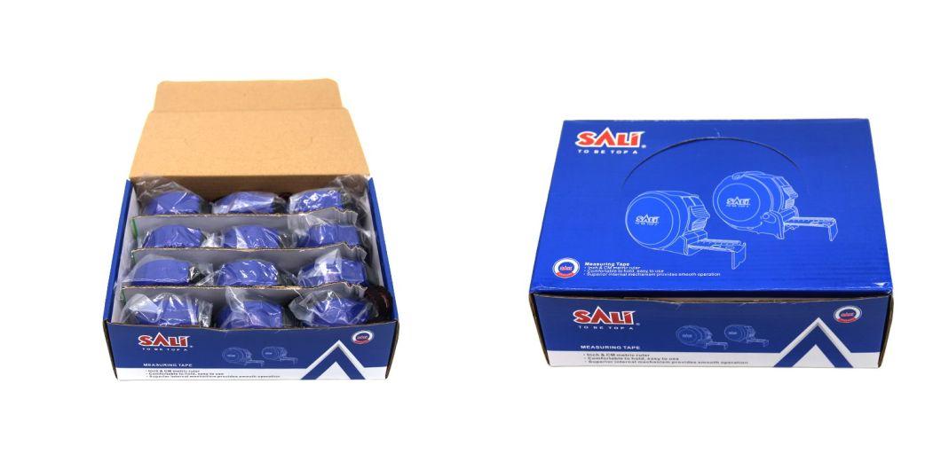 China Factory Professional Chrome Case Automatic Brake Measure Tape